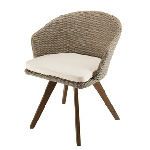 Review Synthetic Rattan Garden Chair With Cushion
