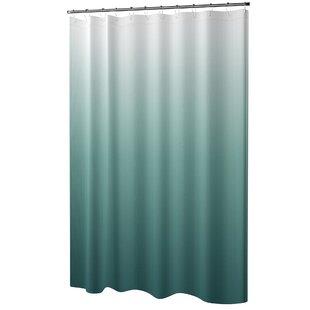 Wickstrom 13 Piece Ombre Waffle Weave Shower Curtain Set by Mercury Row