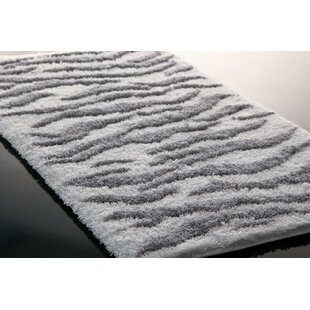 Hizer Zebra Bath Rug