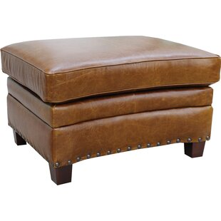 Halliburton Leather Ottoman by..