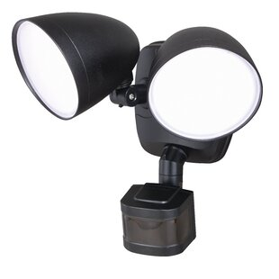 Best Reviews Swenson Dualux® 2-Light Outdoor Floodlight By Freeport Park
