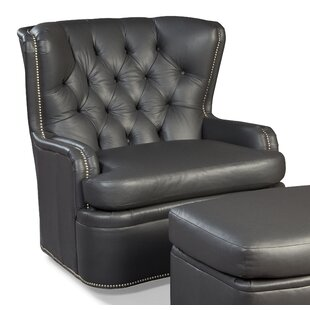 Swivel Wingback Chair by Fairfield Chair