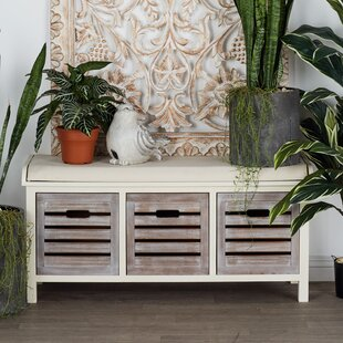 Best Price Wooden Storage Bench By Cole & Grey