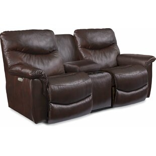 James La-Z-Time® Power Reclining Loveseat by La-Z-Boy