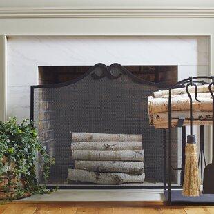 Tyson Single Panel Steel Fireplace Screen by Birch Lane?
