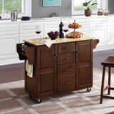 Iyana Kitchen Cart by Charlton Home®