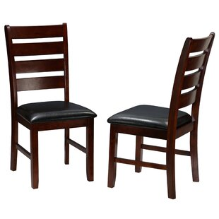 Kyndra Solid Wood Dining Chair (Set of 2) Red Barrel Studio
