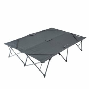 Portable Folding Double Camping Bench by Kingcamp