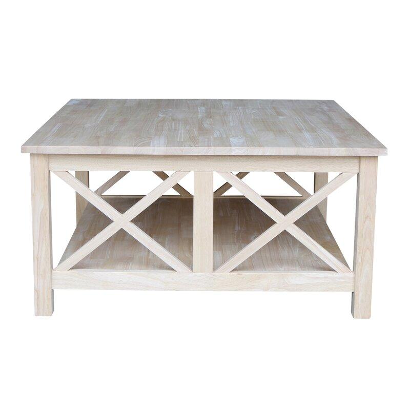 Furniture Coffee Tables loon peak walden wood coffee table & reviews | wayfair