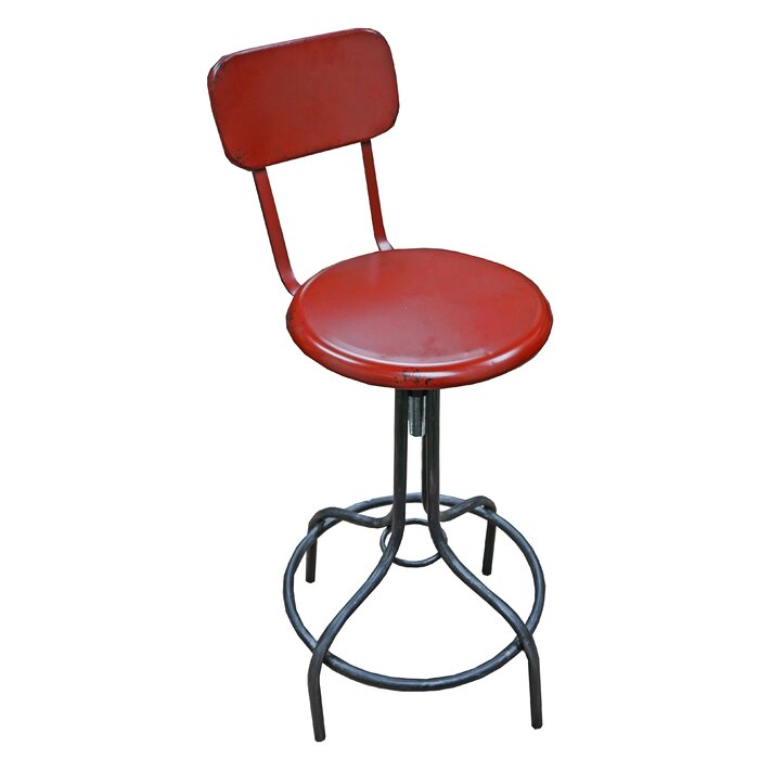 Prime Arndt Adjustable Height Bar Stool Gmtry Best Dining Table And Chair Ideas Images Gmtryco