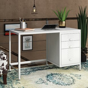Find for Karli Wooden/Metal Writing Desk By 17 Stories
