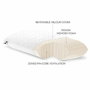 Alwyn Home Zoned Dough Memory Foam Pillow