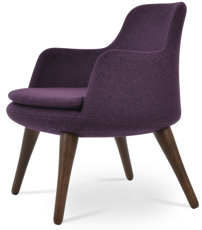 Sohoconcept Dervish Low Back Wood Lounge Chair Wayfair