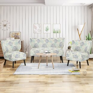 Compare & Buy Swope 3 Piece Living Room Set by Winston Porter Reviews (2019) & Buyer's Guide