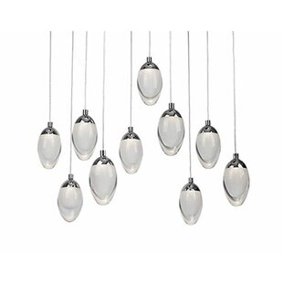 Drop 10-Light Pendant by Radionic Hi Tech