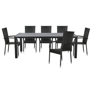 Mcauliffe 6 Seater Dining Set By Sol 72 Outdoor