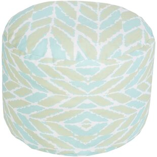 Bungalow Rose Stein Pouf