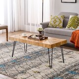 Massimo Coffee Table by Union Rustic