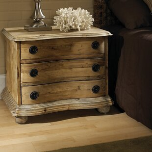 Salvaged Wood 3 Drawer Bachelor's Chest by Padmas Plantation
