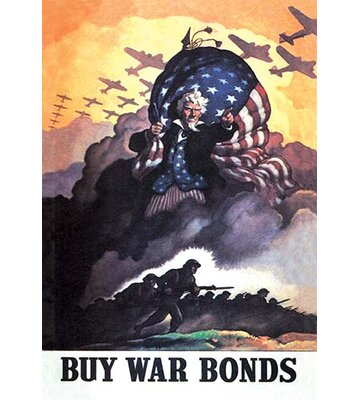 Buy War Bonds By Nc Wyeth Vintage Advertisement Buyenlarge