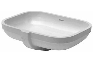 Shopping for Happy D.2 Ceramic Oval Undermount Bathroom Sink with Overflow By Duravit
