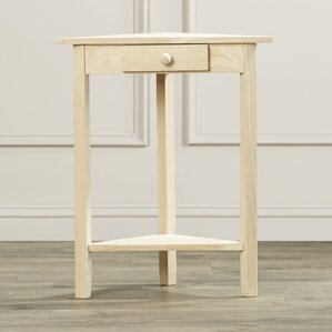 Toby End Table With Storage by August Grove