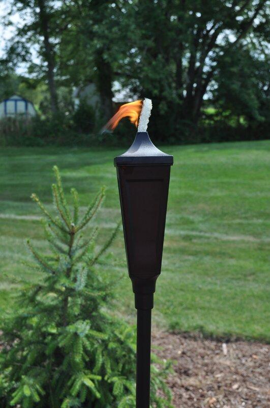 Die Cast Classic Garden Torch