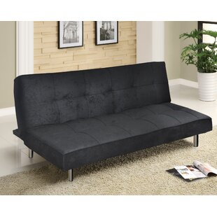 Urban Shop Microfiber Convertible Sofa
