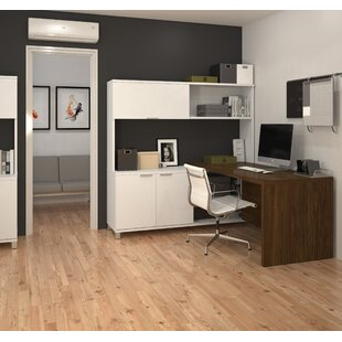 Mercury Row Ariana 3-Piece L-Shape Desk Office Suite