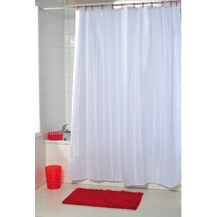 Vertical Stripes Single Shower Curtain