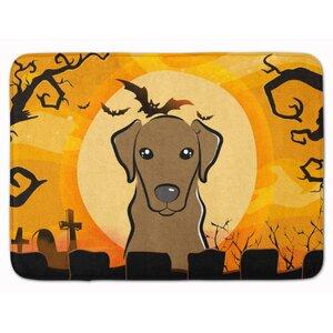 Halloween Labrador Memory Foam Bath Rug