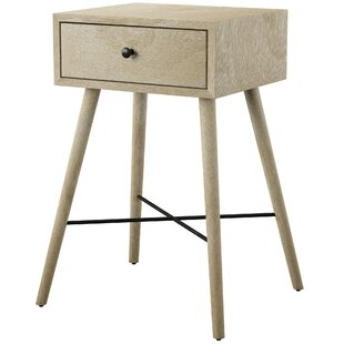 Elida End Table with Storage