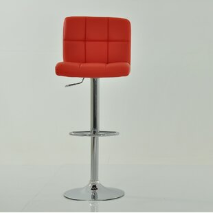 Review Height Adjustable Swivel Bar Stool