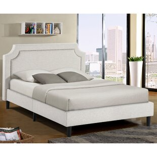 Charlton Home Jonathon Queen Upholstered Platform Bed