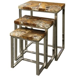 Kari 3 Piece Nesting Tables By Rosecliff Heights