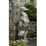Antique Greyhound Statue