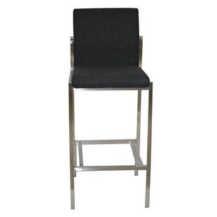 Chambliss 30 Modern Bar Height Upholstered Stool