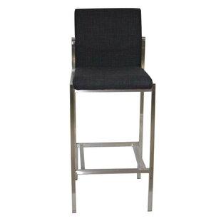 Affordable Chambliss 30 Modern Bar Height Upholstered Stool by Orren Ellis Reviews (2019) & Buyer's Guide