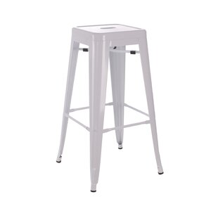 61.2cm Bar Stool By Williston Forge