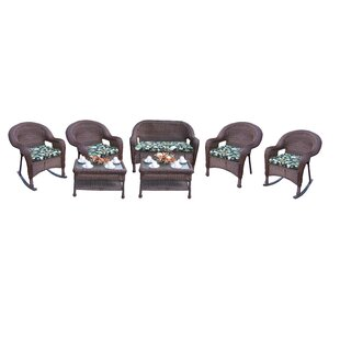 7 Piece Sunbrella Sofa Set with Cushions by Oakland Living
