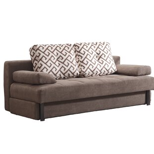 Shop Dagley Contemporary Brown Sleeper by Latitude Run