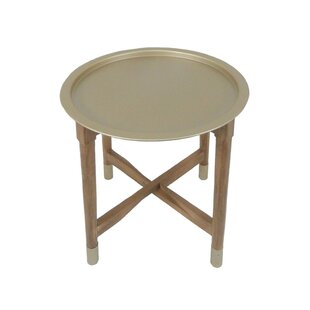 Reisman Tray Top End Table by Wrought Studio