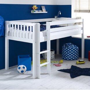 Booth European Single Mid Sleeper Bed By Harriet Bee