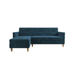 Hephzibah Reversible Sleeper Sectional by Zipcode Design