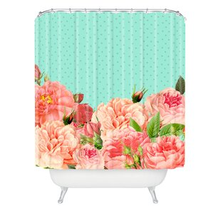 Allyson Johnson Sweetest Floral Single Shower Curtain