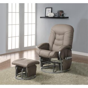 Hopewell Glider and Ottoman by Zoomie Kids