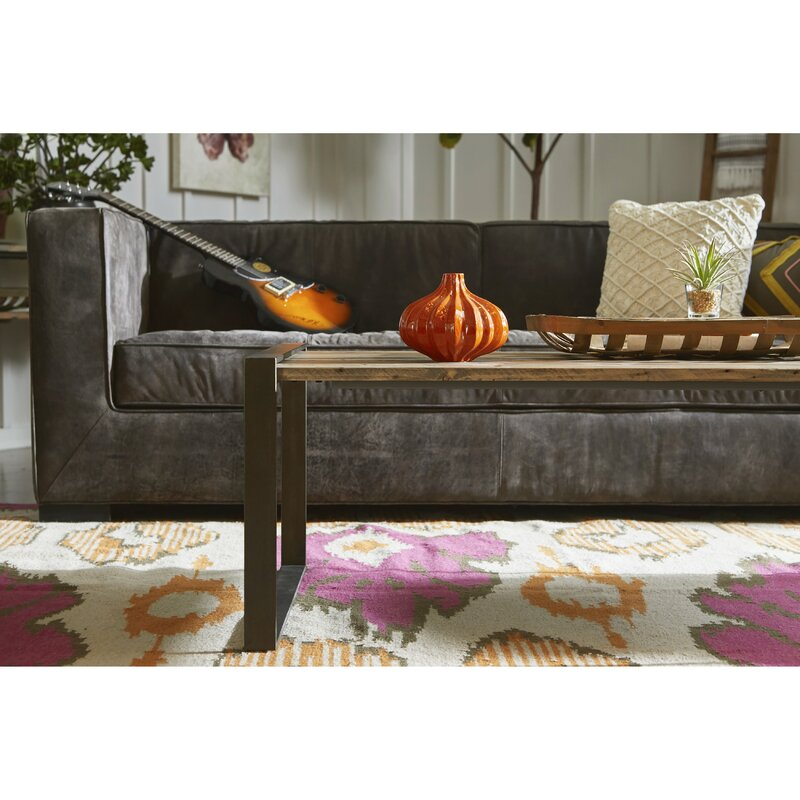 Worceer Distressed Shelter Leather Sofa