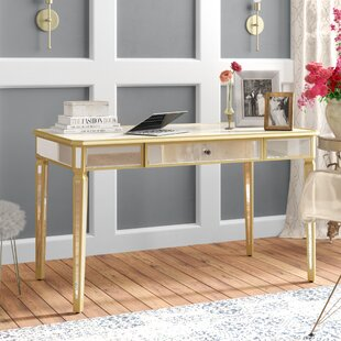 Find a Chaz Mirrored Writing Desk ByWilla Arlo Interiors
