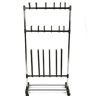 Compare Rolling 9 Pair Shoe Rack By Mind Reader
