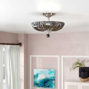 Aadvik 4-Light Semi-Flush Mount by Willa Arlo Interiors